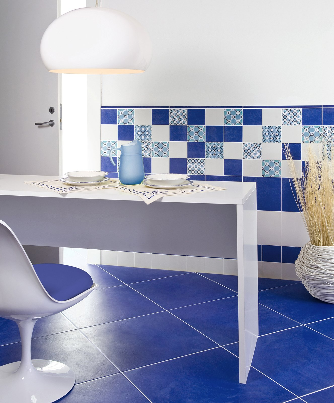 Cucina piastrelle per le pareti cose di casa - Piastrelle cucina bianche ...