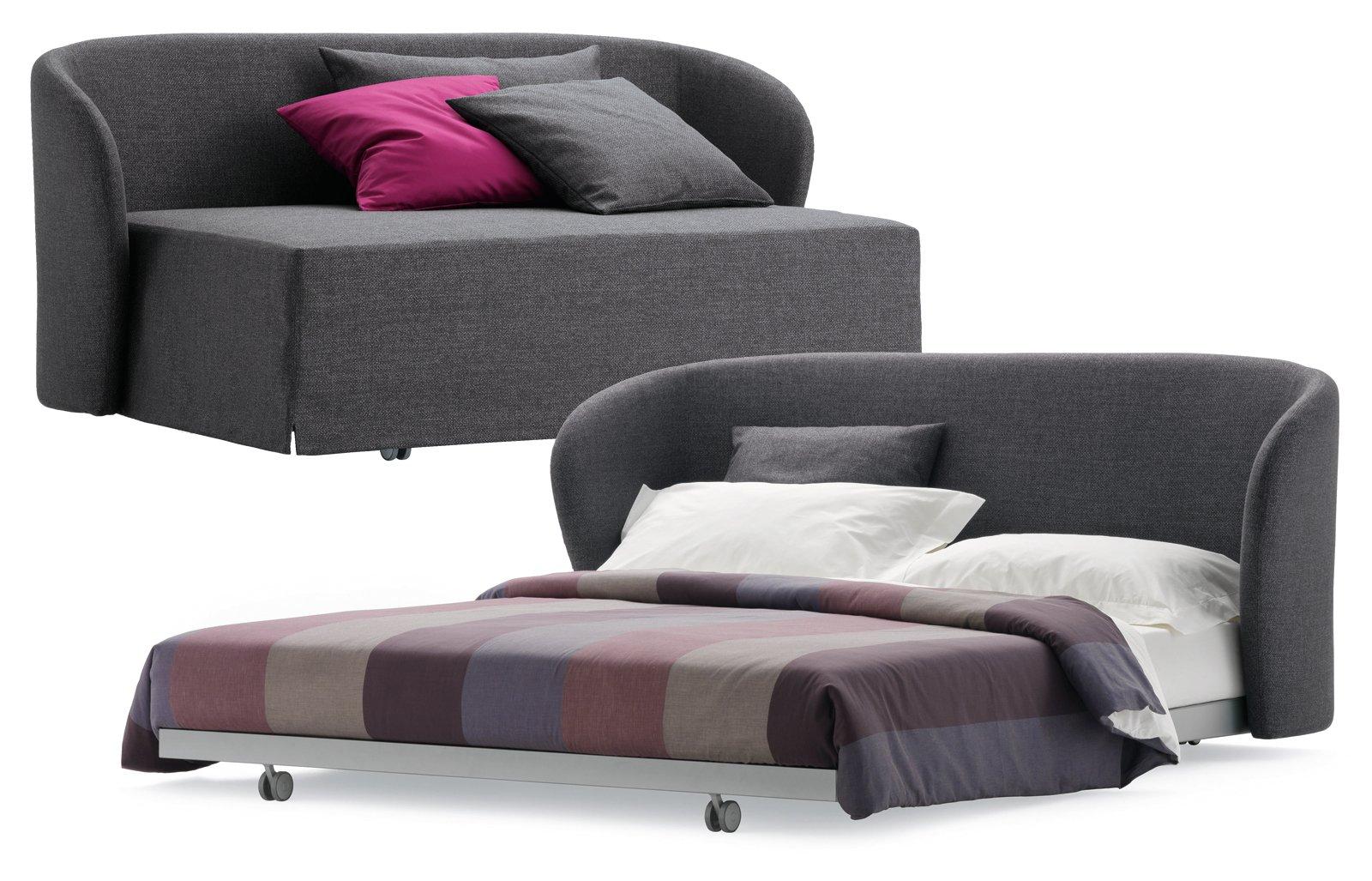 Divani letto per risparmiare spazio cose di casa - Schienale divano letto ...