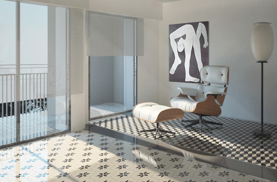 Bagno Con Cementine: Rivestimenti e pavimenti cementine di ...