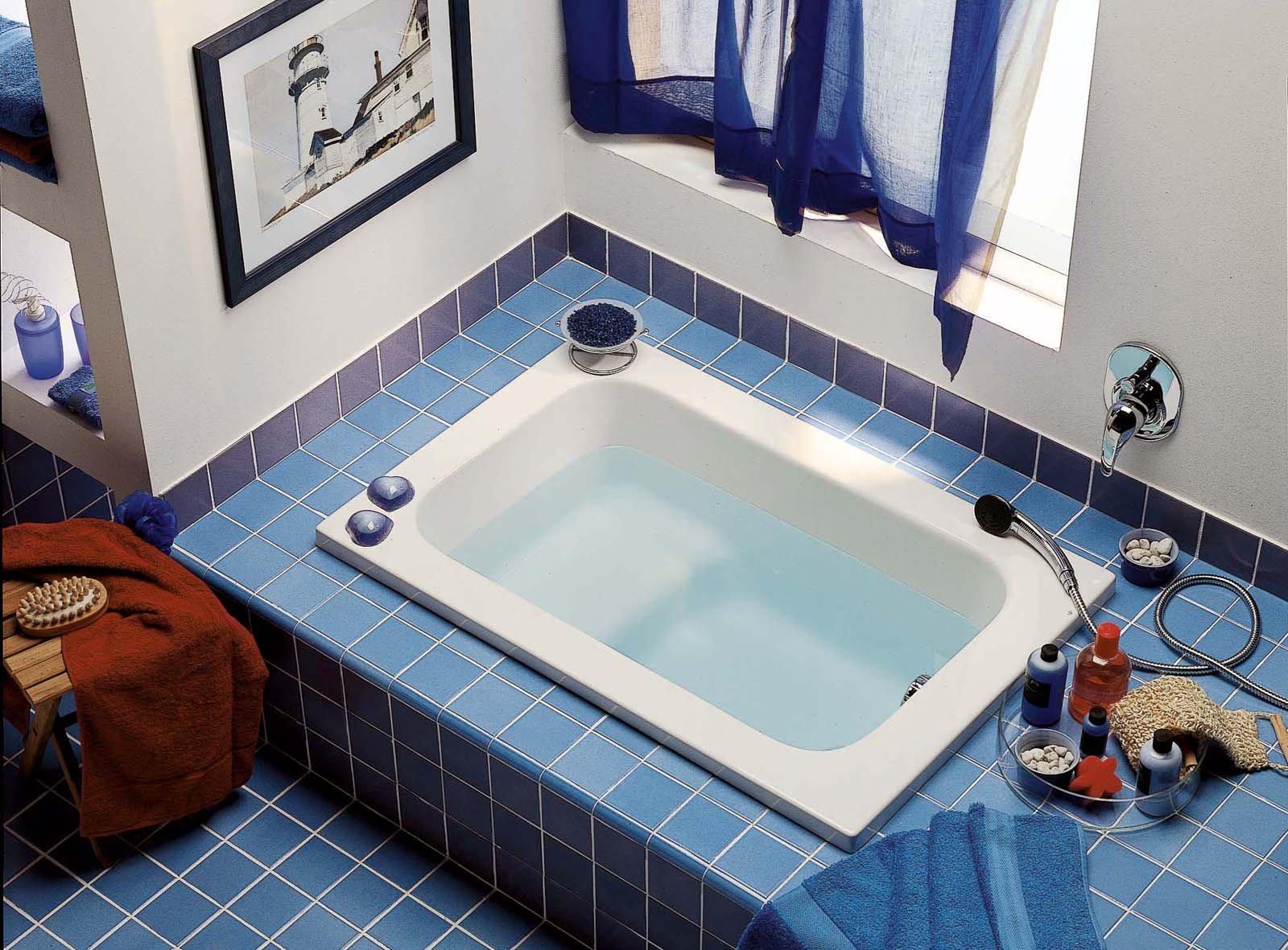 Vasche da bagno piccole cose di casa - Vasca da bagno incasso prezzi ...