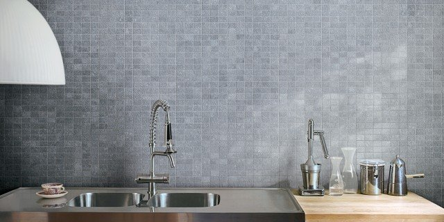 Cucina piastrelle per le pareti cose di casa - Rivestimento piano cucina ...