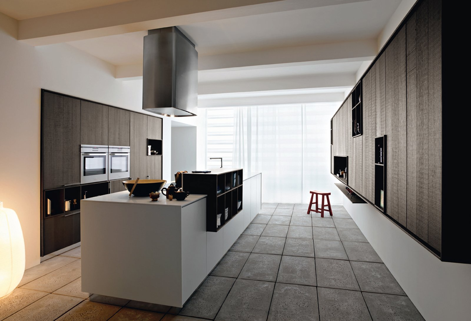 Cucine con isola cose di casa - Cucina con penisola centrale ...