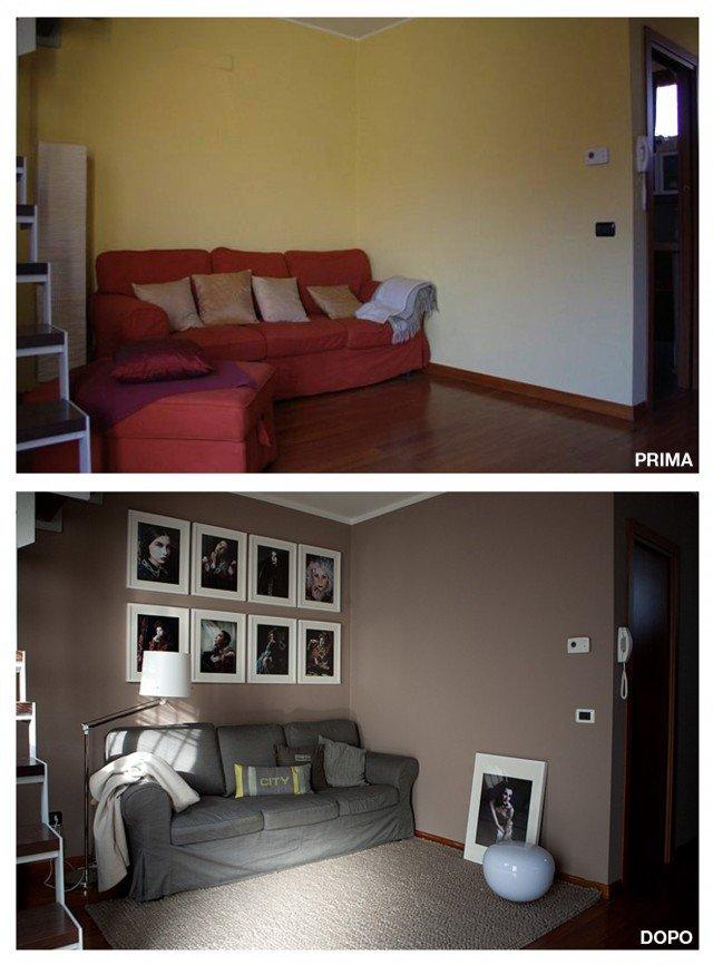 Soggiorno restyling spendendo poco cose di casa - Camera da letto piccola consigli su distribuzione ...