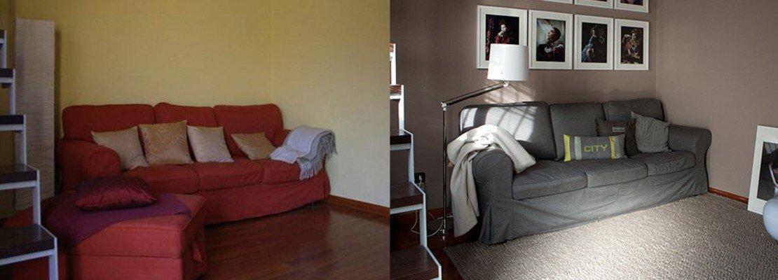 Soggiorno: restyling spendendo poco   cose di casa