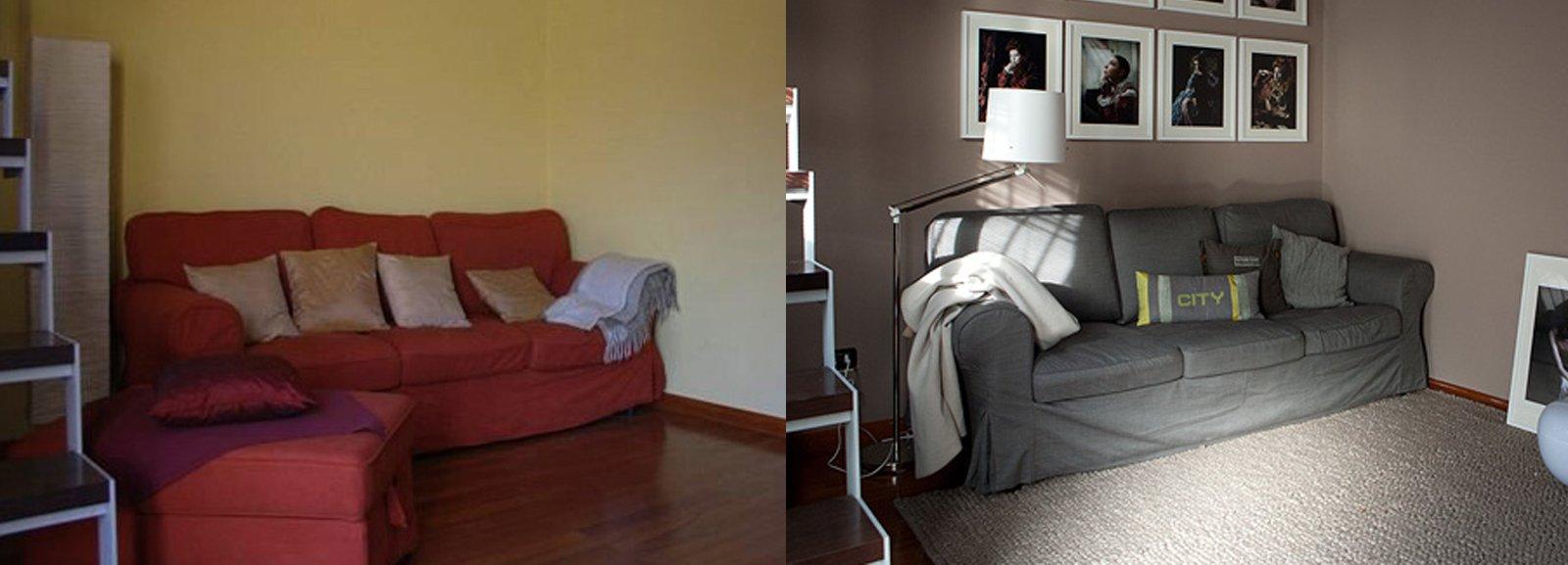 soggiorno restyling spendendo poco cose di casa