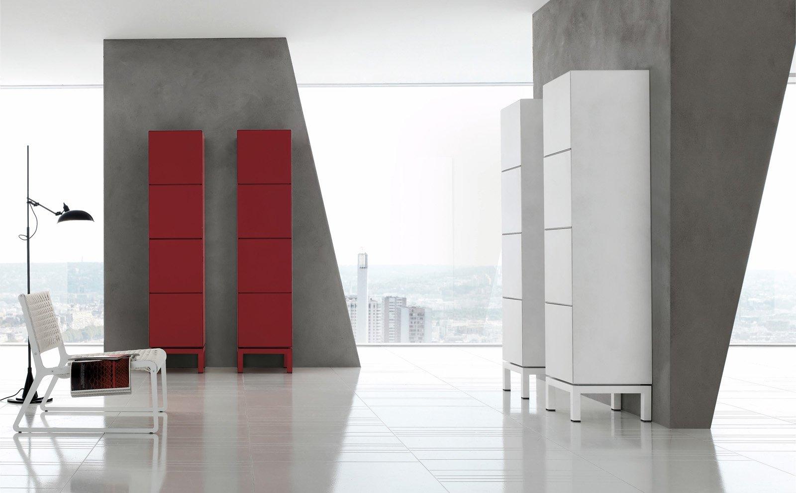 Salvaspazio mobili alti e stretti cose di casa - Mobili salvaspazio bagno ...