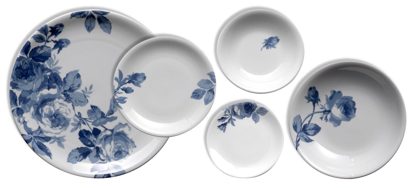 Piatti colorati o decorati per fare bella la tavola cose - Piatti per la casa ...