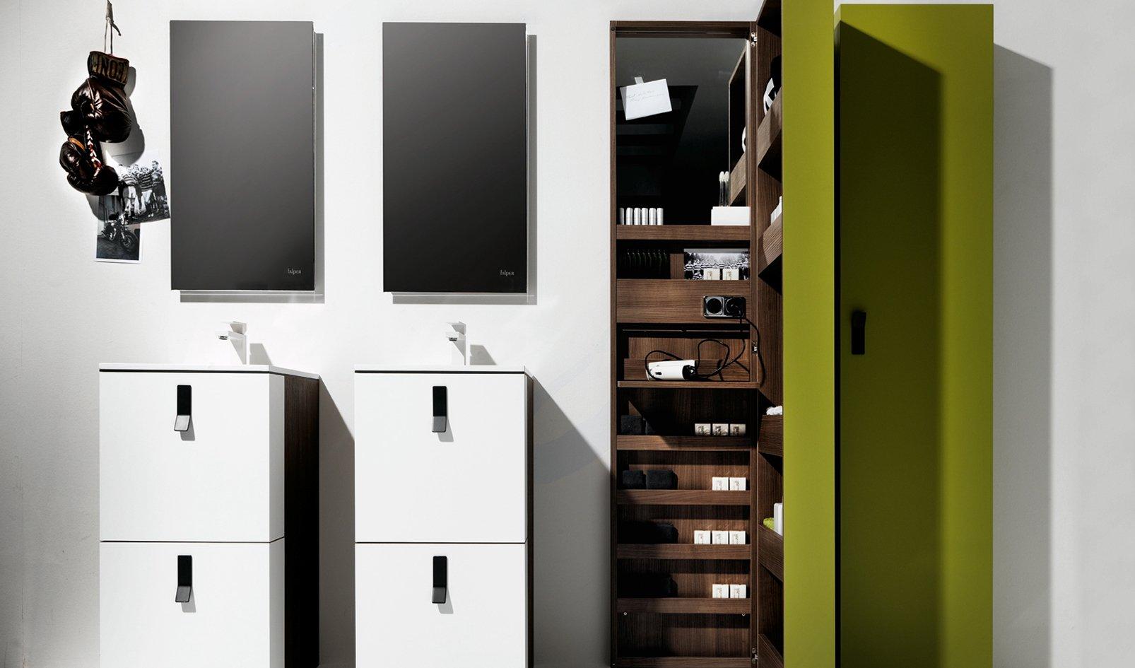 Un mobile bagno per guadagnare spazio cose di casa - Mobili poco profondi ...