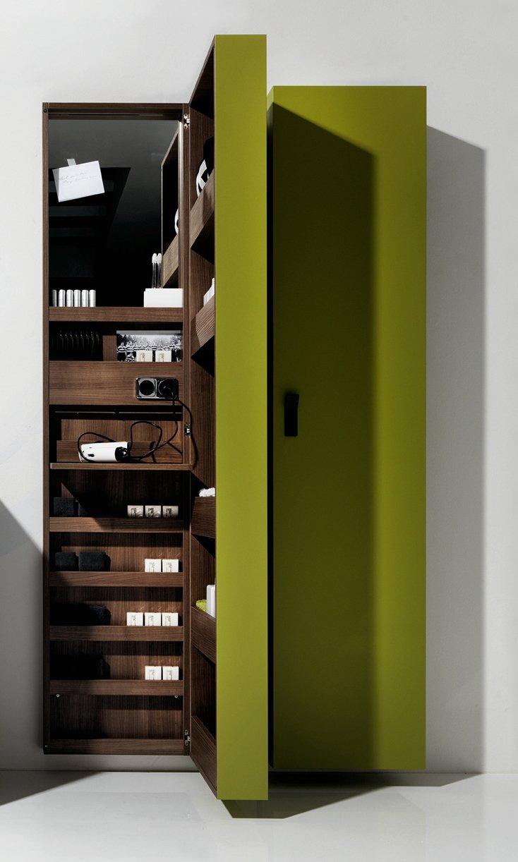 Un mobile bagno per guadagnare spazio cose di casa - Mobile bagno colonna ...