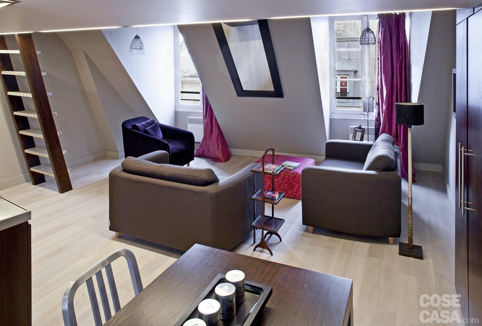 casa di 60 mq con soppalco : La casa cresce: da 35 a 60 mq - Cose di Casa