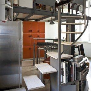 casa piccola: 43 mq + soppalco per studio e cabina armadio - cose ... - Soppalco Camera Da Letto