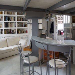 Casa piccola: 43 mq + soppalco per studio e cabina armadio - Cose di ...