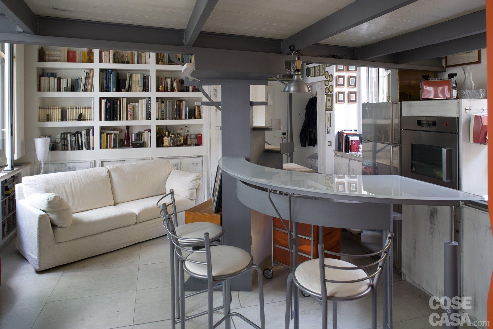 Casa piccola 43 mq soppalco per studio e cabina armadio - Casa piccola soluzioni ...