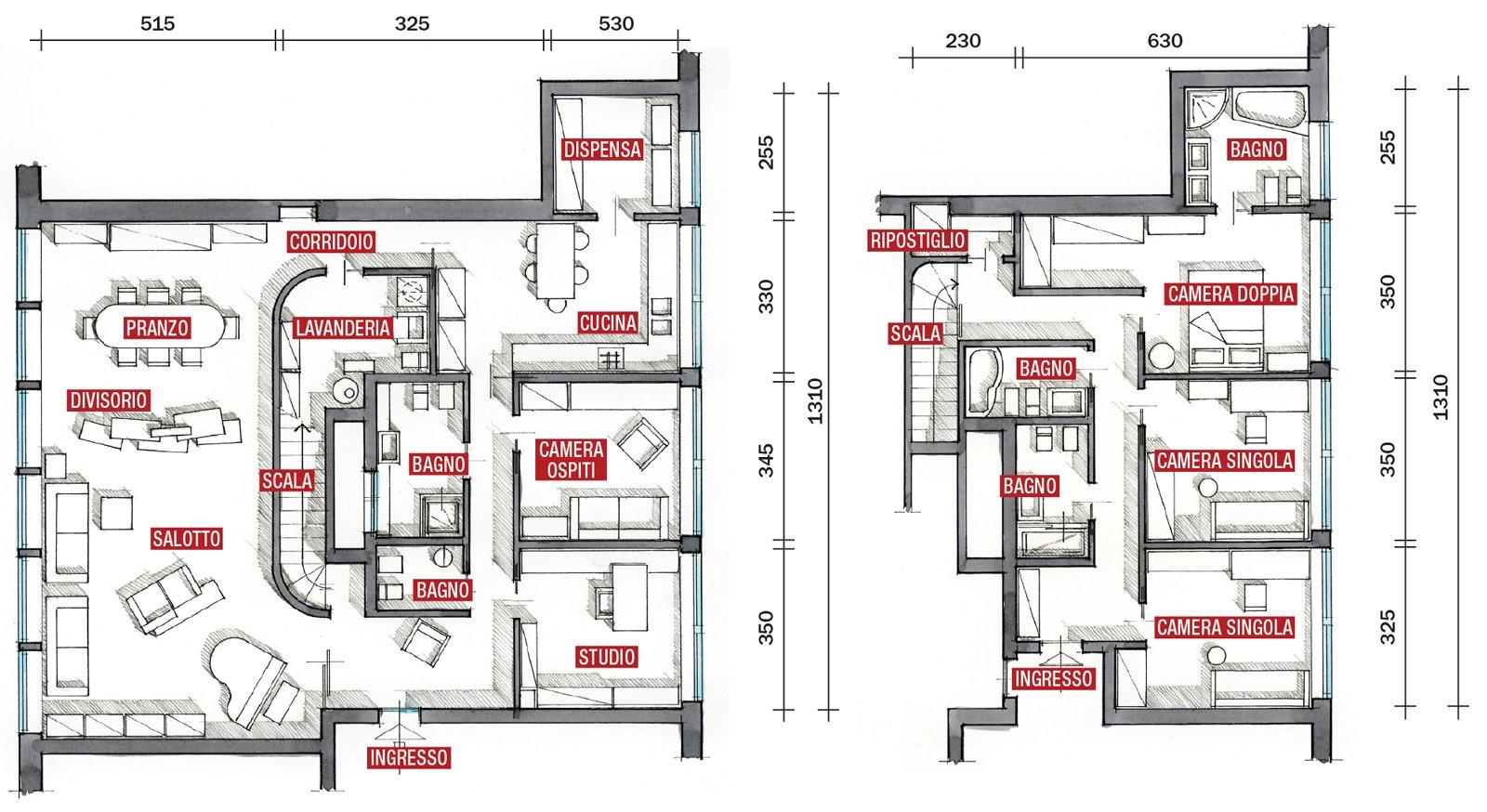 Una casa pensata per il risparmio energetico cose di casa for Moderni disegni di case a due piani