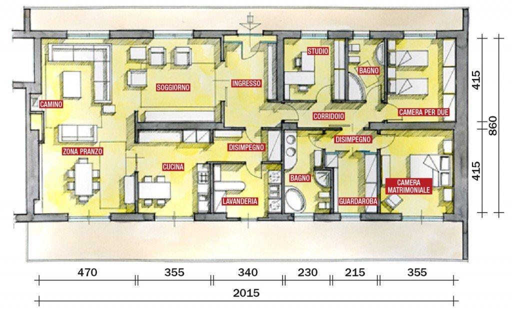 Una casa con tante idee da copiare cose di casa for Cose di casa progetti