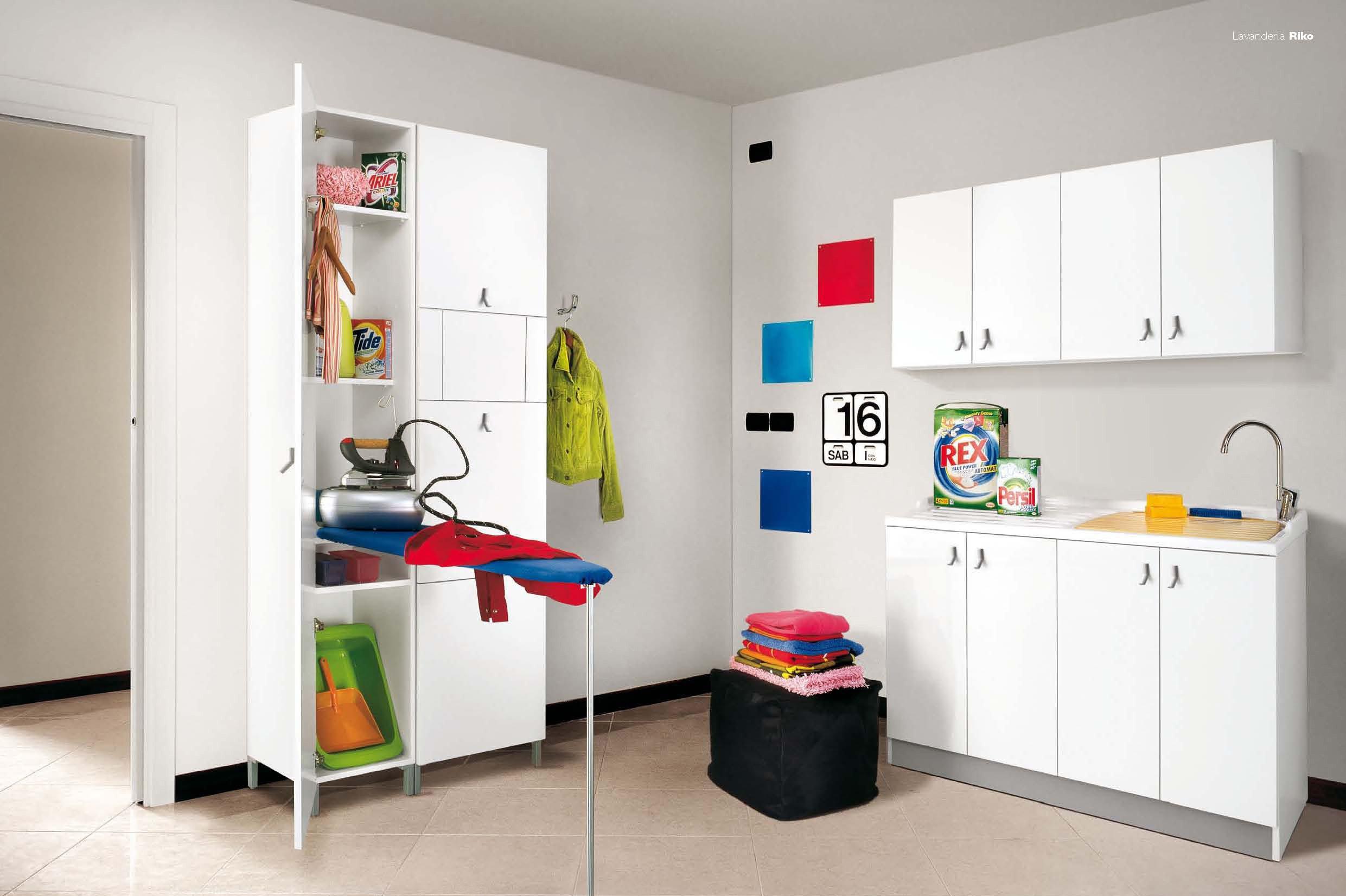 La lavanderia in 1 5 mq cose di casa - Arredare lavanderia di casa ...