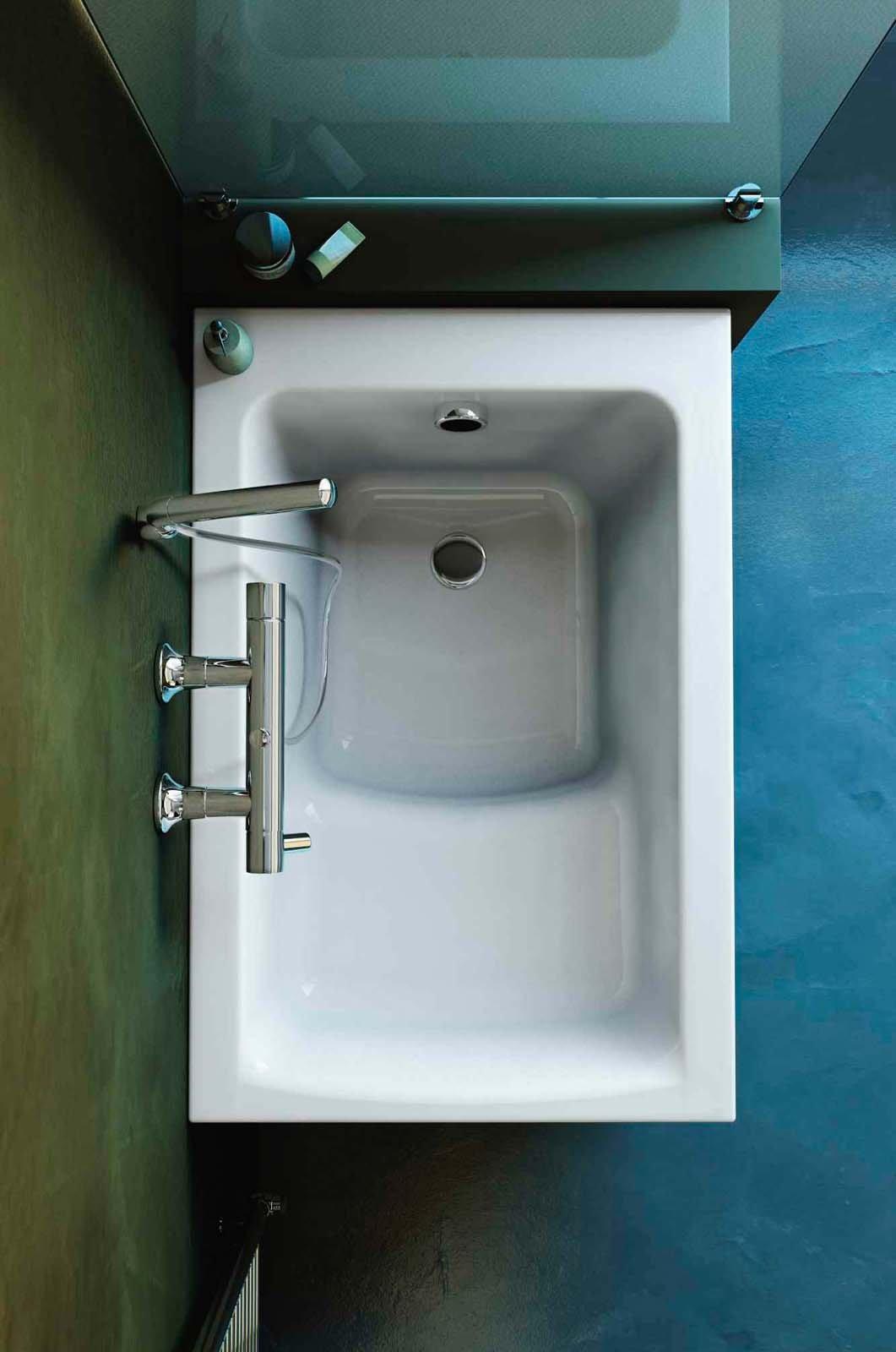 Vasche da bagno low cost a partire da 182 euro cose di casa - Vasche da bagno piccole con seduta ...