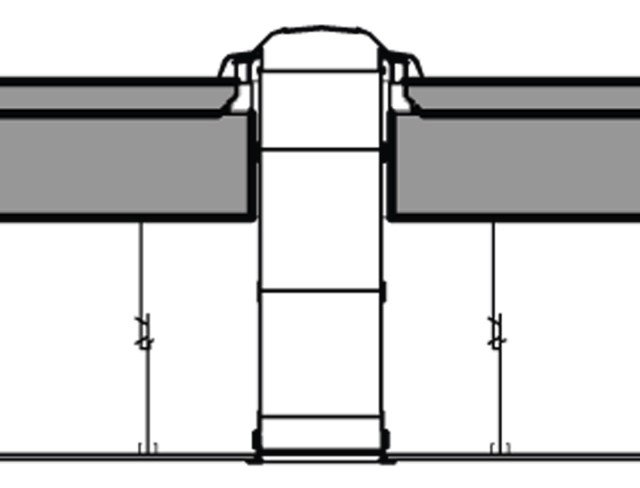 La dimensione del foro da realizzare nel tetto e la lunghezza del condotto cambiano a seconda che si tratti di copertura piana o con falde. Variazioni ci sono anche per quanto riguarda i captatori esterni.