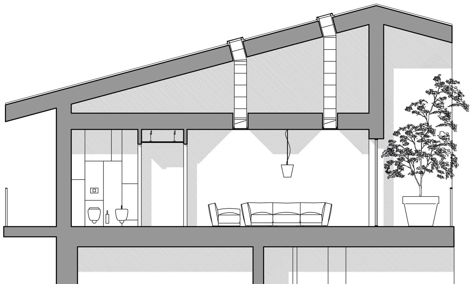 La dimensione del foro da realizzare nel tetto e la lunghezza del ...