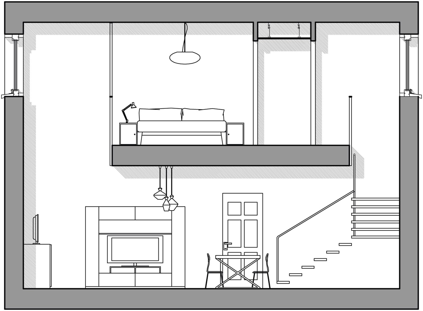 Pi luce 10 idee per moltiplicarla cose di casa - Finestra che si apre sul lato superiore ...