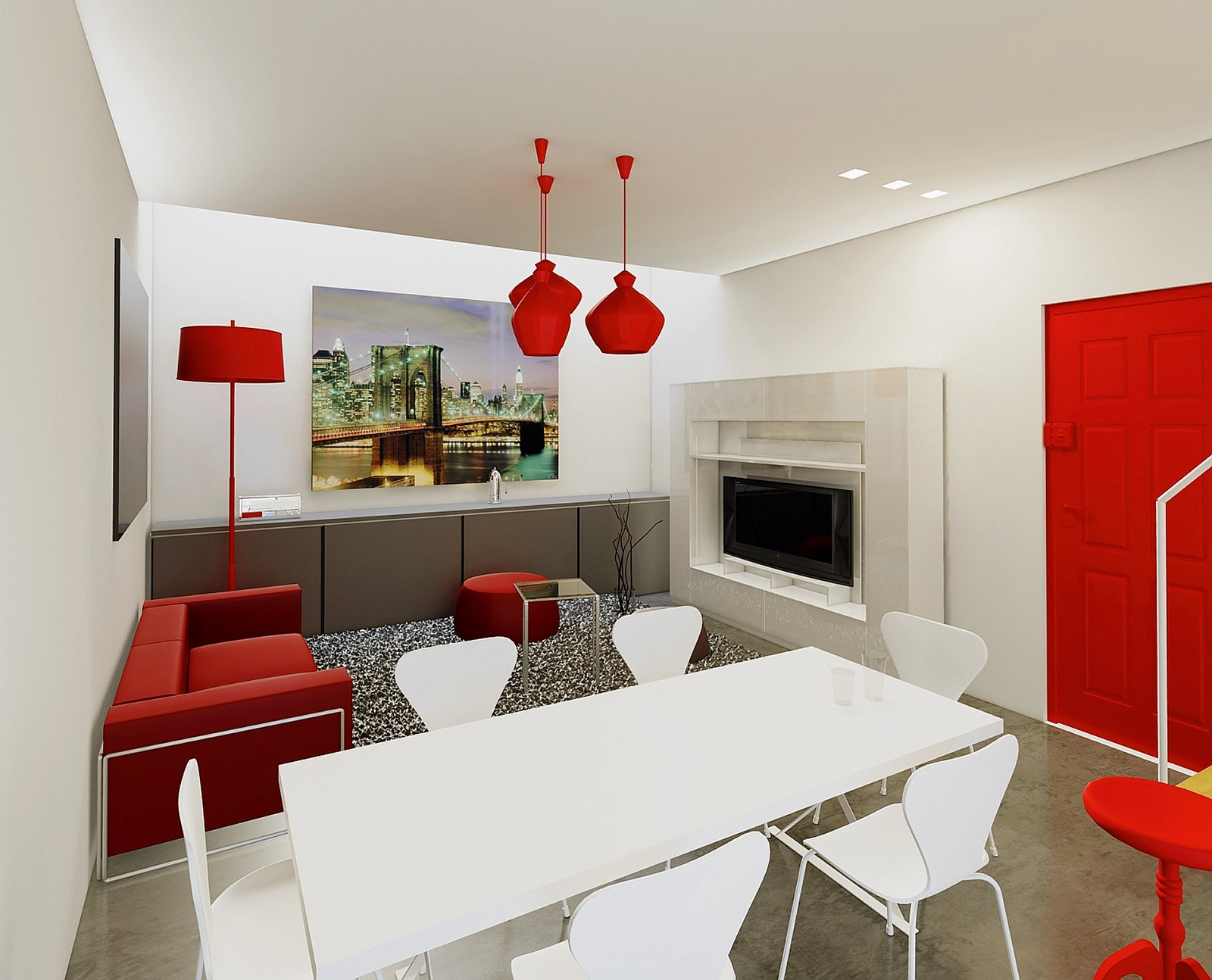 idee x imbiancare casa. stunning colori in casa blu petrolio e ... - Come Imbiancare La Camera Da Letto