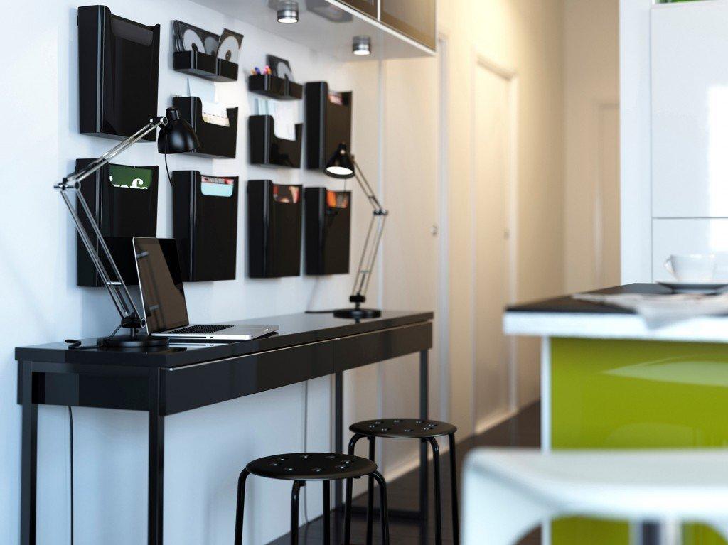 home office l 39 ufficio in casa cose di casa. Black Bedroom Furniture Sets. Home Design Ideas