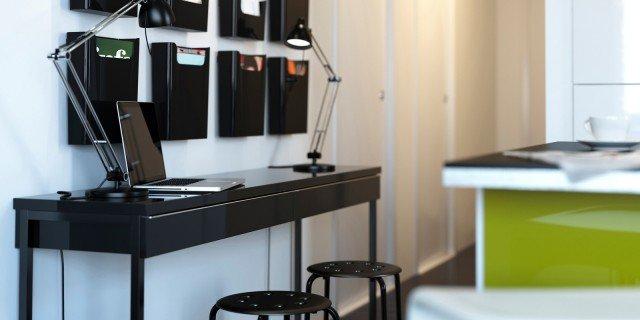 Home office. L'ufficio in casa