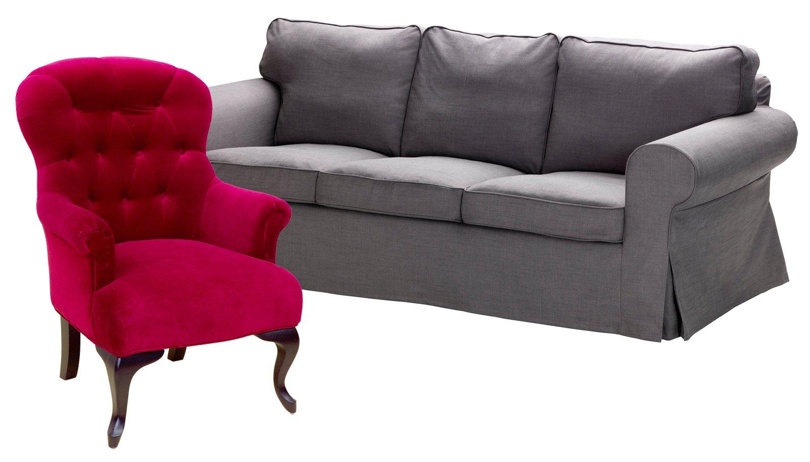 Poltrona e divano idee per abbinarli cose di casa - Cambiare rivestimento divano poltrone e sofa ...