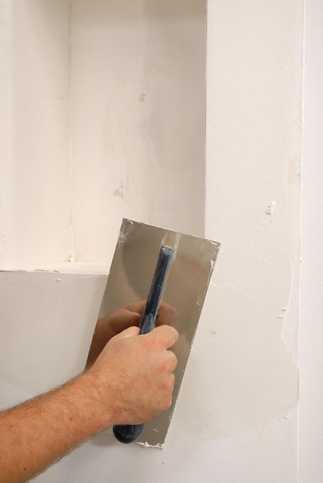Intonaco rustico per interni confortevole soggiorno - Chiocciola per intonaco ...