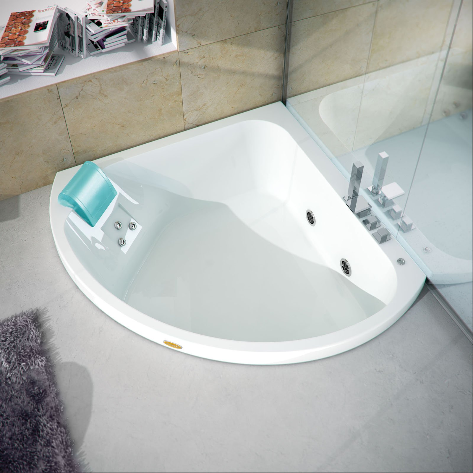Vasche da bagno piccole cose di casa for Bagno piccolo con vasca