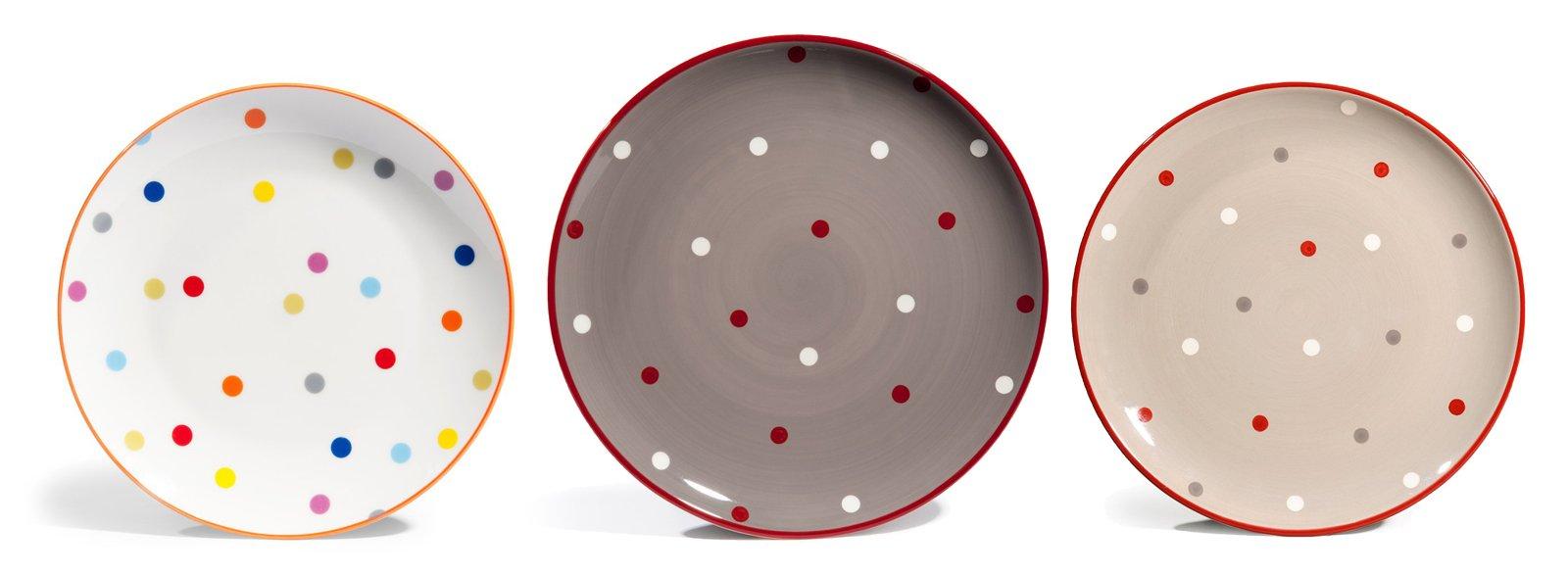 Piatti colorati o decorati per fare bella la tavola cose - Forno tradizionale e microonde insieme ...