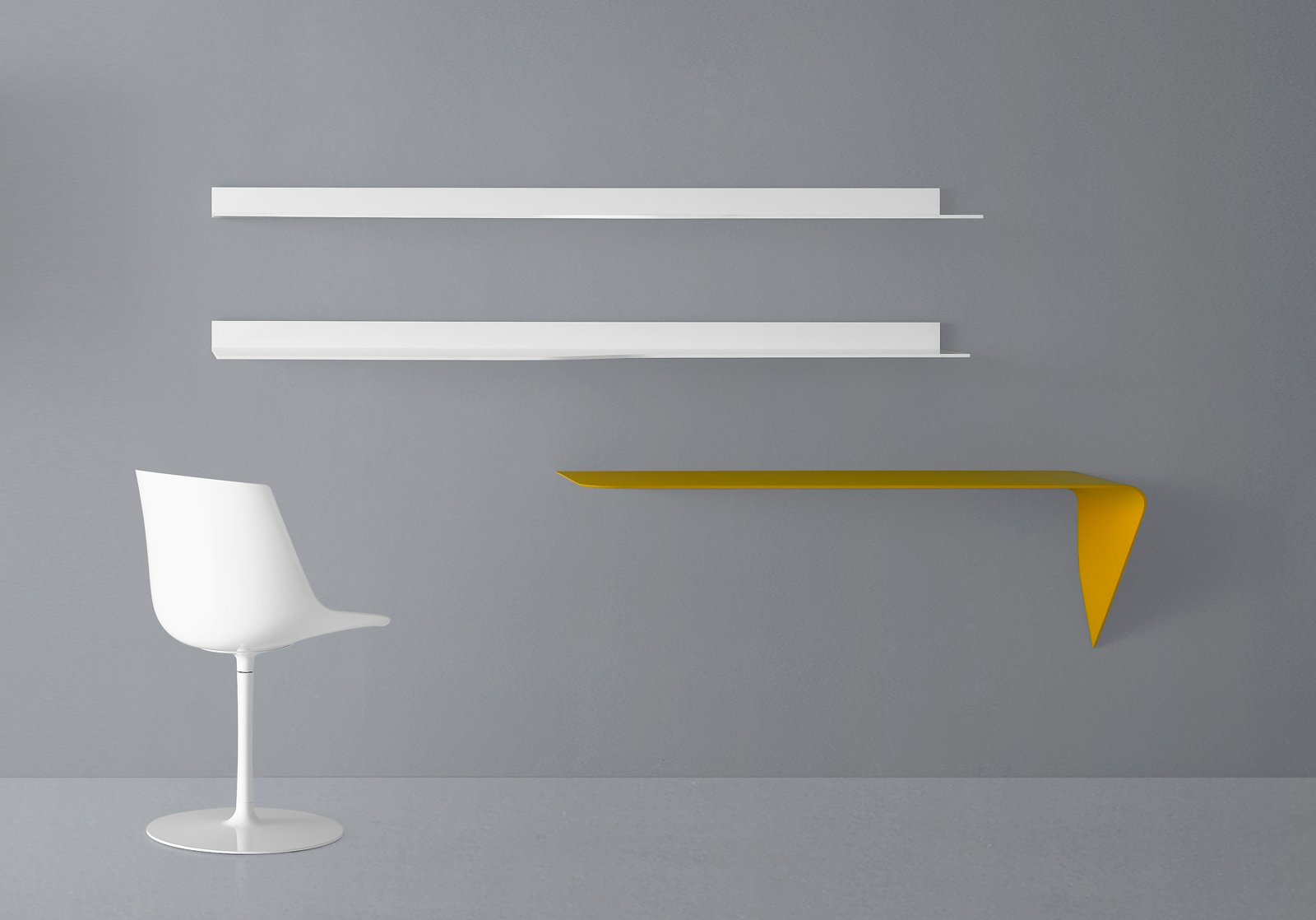 Soluzioni per la casa il soggiorno sembra pi grande cose di casa - Ikea mensole vetro ...