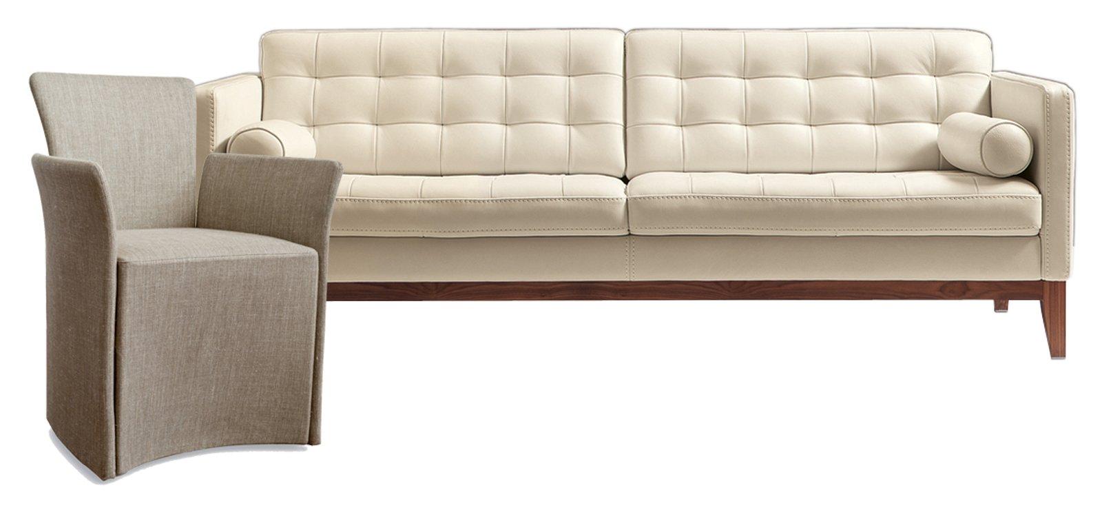 Poltrona e divano idee per abbinarli cose di casa for Quali sono i migliori divani in pelle