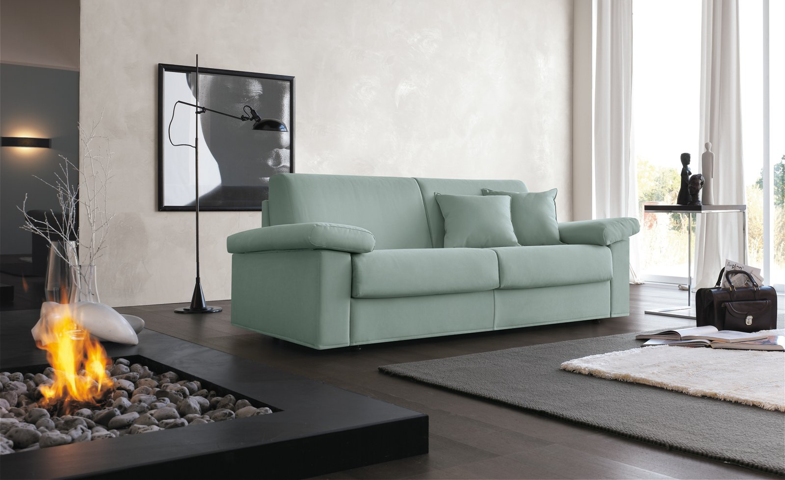 Divani letto per risparmiare spazio cose di casa for Divani salotti