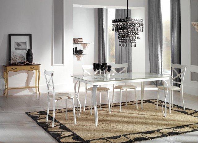 Tavolo bianco da abbinare a tutto cose di casa - Mobili romantici ...