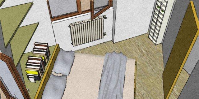 Camera matrimoniale piccola come la arredo cose di casa for Idee camera matrimoniale piccola