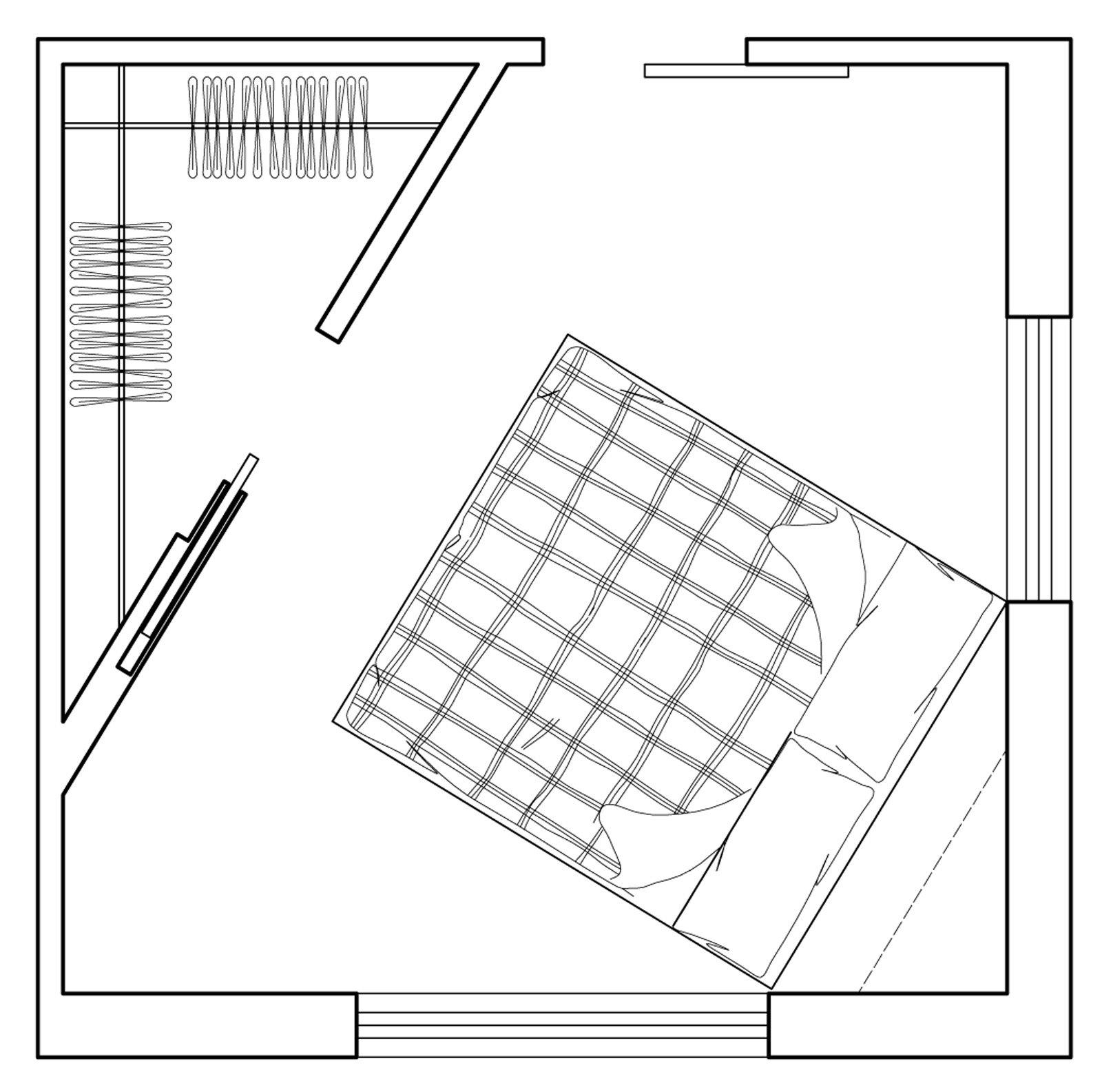 Camera matrimoniale piccola come la arredo cose di casa for Planimetrie della cabina di log con soppalco