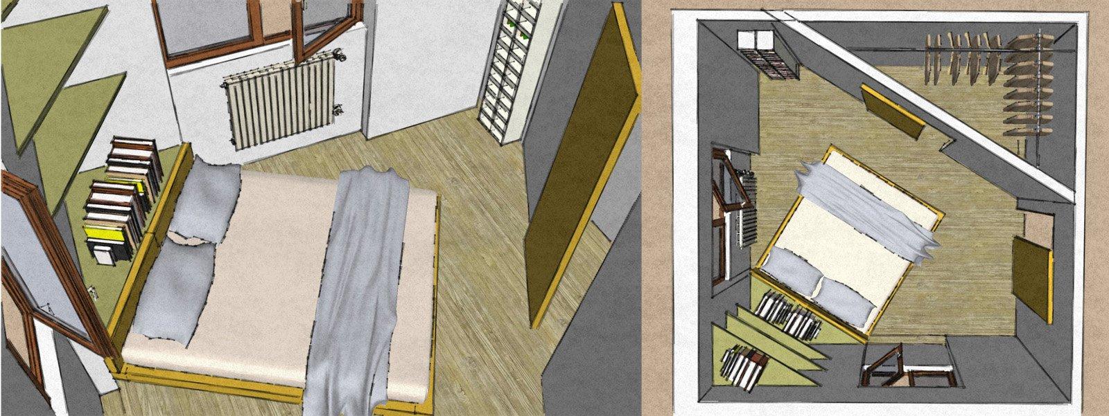 Camera matrimoniale piccola come la arredo cose di casa - Soluzioni per camere da letto piccole ...