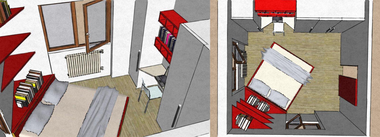 Camera matrimoniale piccola come la arredo cose di casa - Idee per arredare camera da letto piccola ...