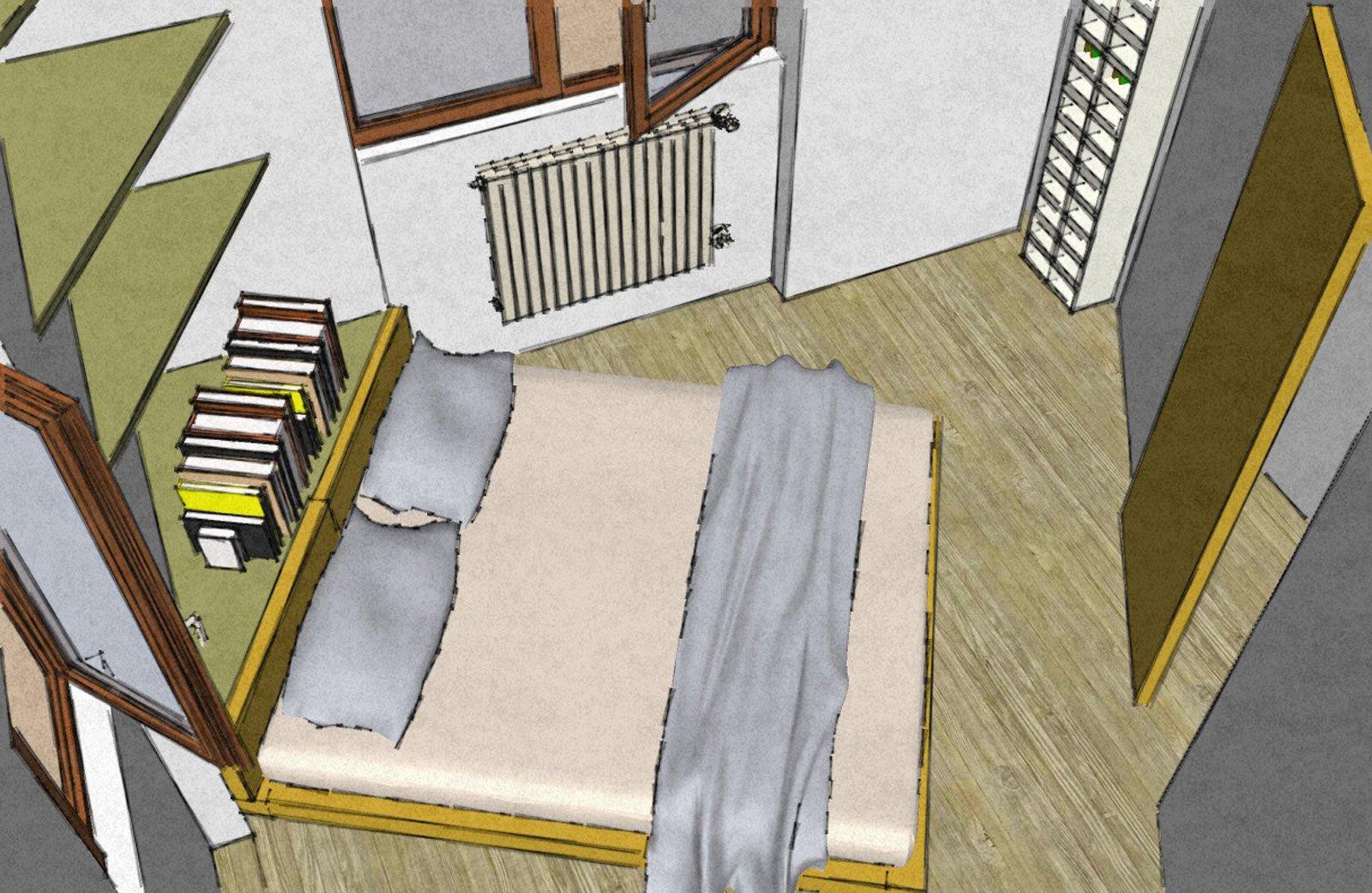 Camera matrimoniale piccola come la arredo cose di casa for Siti oggettistica casa
