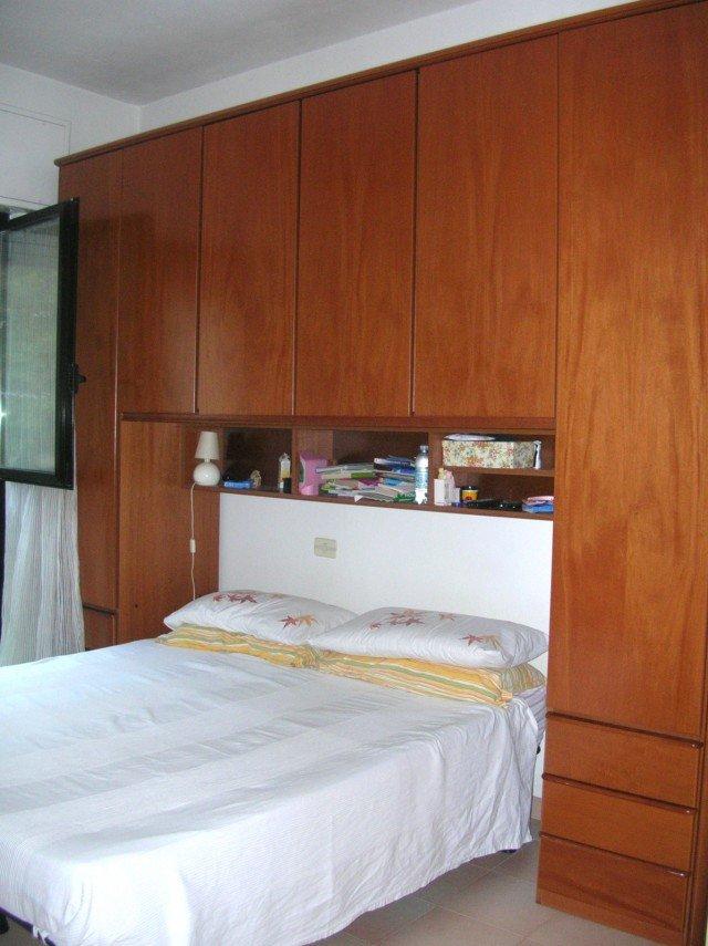 La camera da letto si fa nuova con un tocco di bianco - Mobile soggiorno fai da te ...