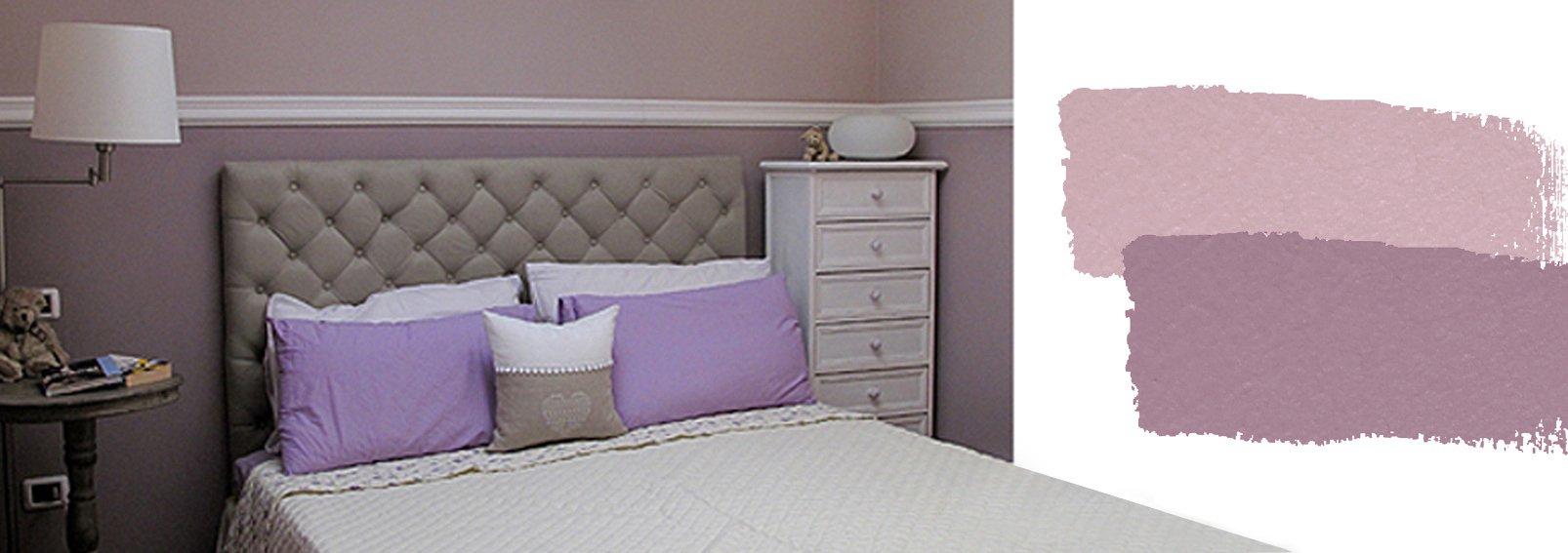 Camera da letto relooking con poca spesa cose di casa for Muri colorati camera da letto