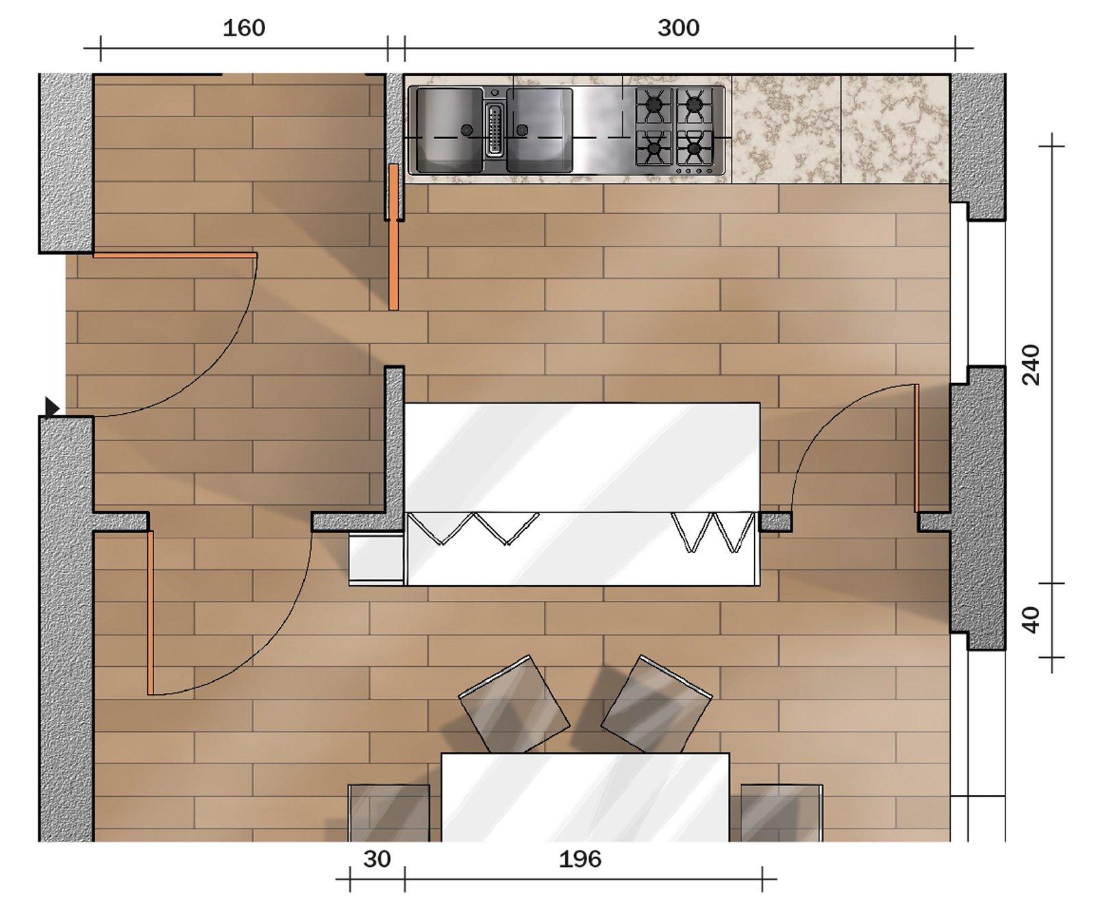 Passavivande per mettere in comunicazione cucina e zona for Finestra tonda