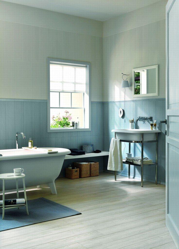 Piastrelle per il bagno tre stili diversi cose di casa for Bagno romantico