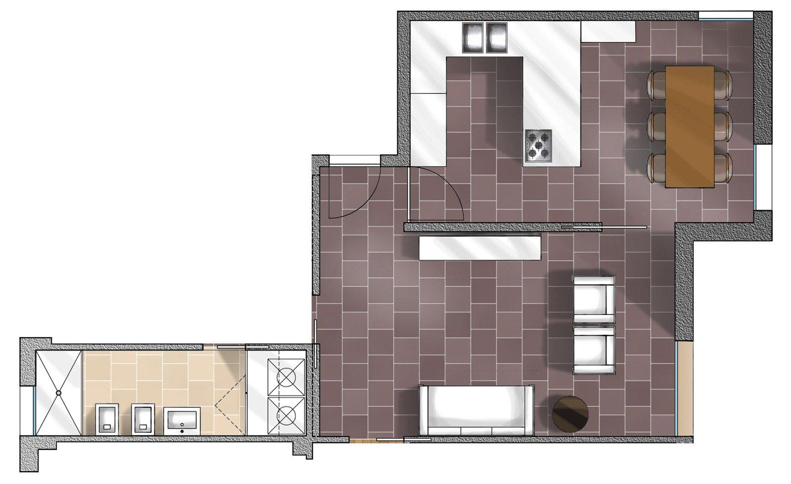 Idee da copiare per migliorare la casa cose di casa - Pianta casa 90 mq ...