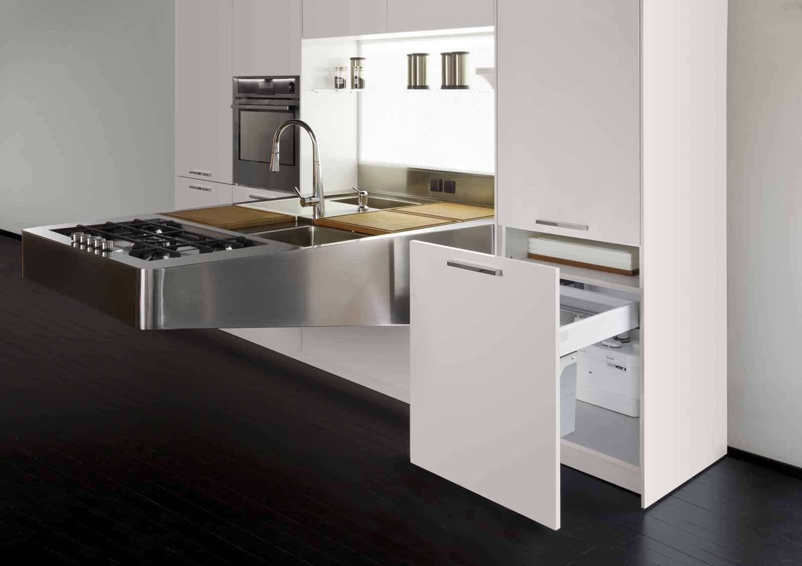 Cucine come spostare il lavello senza lavori cose di casa - Cucine a induzione consumi ...