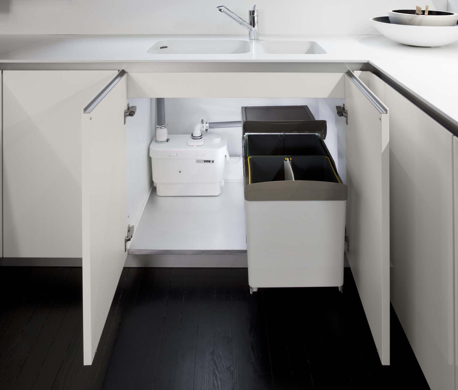 Cucine come spostare il lavello senza lavori cose di casa - Lavandini x cucina ...