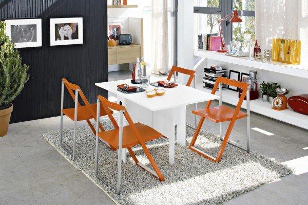 Tavolo bianco da abbinare a tutto cose di casa for Tavoli cucina calligaris