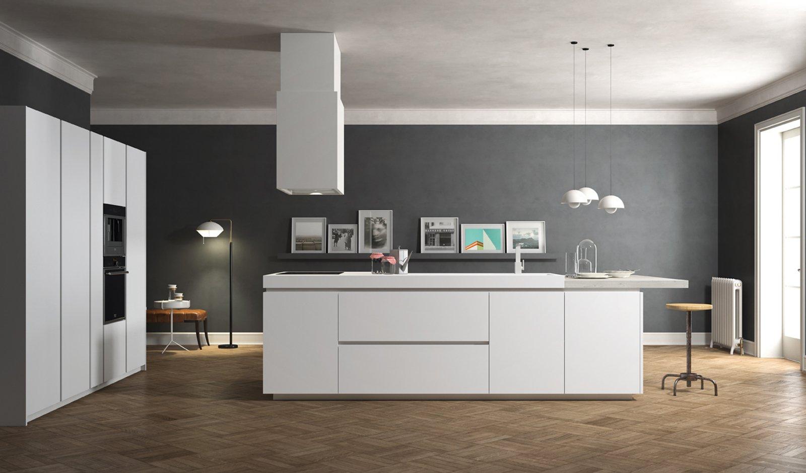 Cucine con isola cose di casa - Cucine color avorio ...