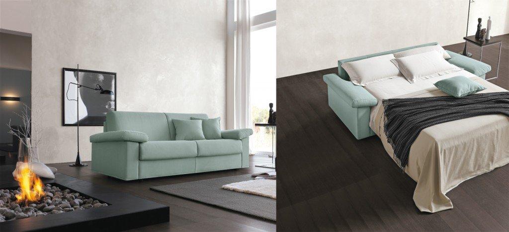 Divani letto per risparmiare spazio cose di casa for Meccanismo per divano letto